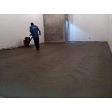 piso polido de cimento Jockey Clube