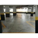 piso polido para garagem preço Santa Isabel