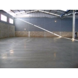pisos de concreto branco Vila Formosa