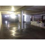 piso de concreto polido com resina