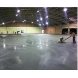 piso em concreto polido