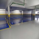 piso epóxi para garagem