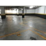 piso para garagem interna