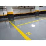 qual o valor de pintura epóxi de concreto para garagem Sé