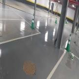 qual o valor de piso epóxi para garagem Sacomã