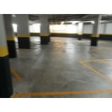quanto custa piso polido para garagem Liberdade