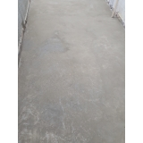 quanto custa recuperação de piso de concreto área externa Sacomã