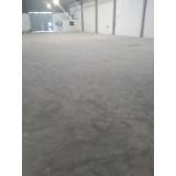 quanto custa recuperação de piso industrial de concreto Parelheiros