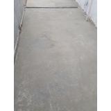 recuperação de piso de concreto área externa valor Itapecerica da Serra