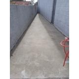 recuperação de piso de concreto área externa Barra Funda