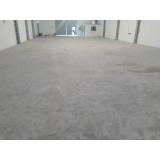 recuperação de piso de concreto armado preço Jaguaré