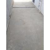 recuperação de piso de concreto estampado preço Mooca
