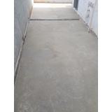 recuperação de piso de concreto para jardim preço Tucuruvi