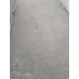 recuperação de piso de concreto para jardim Parque São Rafael
