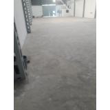 recuperação de piso industrial concreto polido Jundiaí