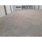 recuperação de piso industrial galpão preço Parque São Lucas