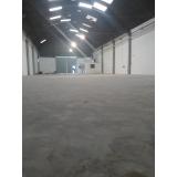 recuperação de piso industrial concreto polido