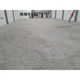 recuperação de piso industrial de concreto polido