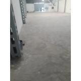 recuperação de piso industrial de concreto