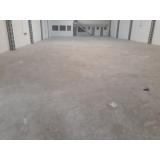 recuperação de piso industrial metálico