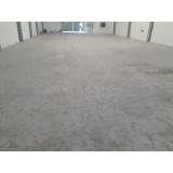 recuperação de piso industrial valor Jardim América
