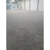 recuperação de piso de concreto aparente