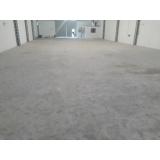 recuperação de piso de concreto armado