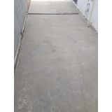 recuperação de piso de concreto queimado