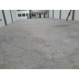 recuperação de piso em galpão