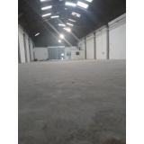 recuperação piso industrial