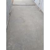 restauração de piso de cimento rachado